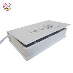 Cina Personalised White Gift Paper Gift Box, Kotak Kemasan High End pabrik