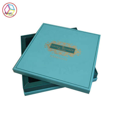 Cina Festival Chocolate Sweet Gift Box Green Color CMYK Pantone Printing pabrik